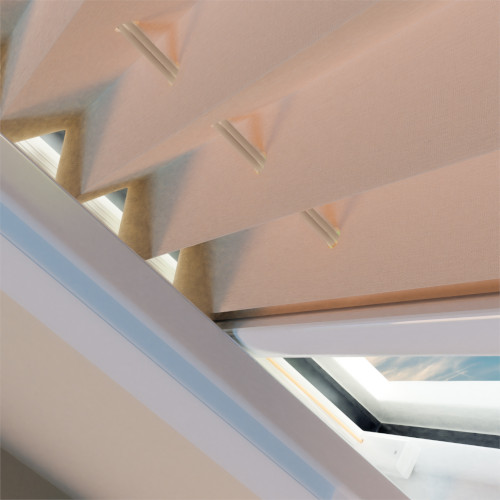 rolety plisowane dachowe